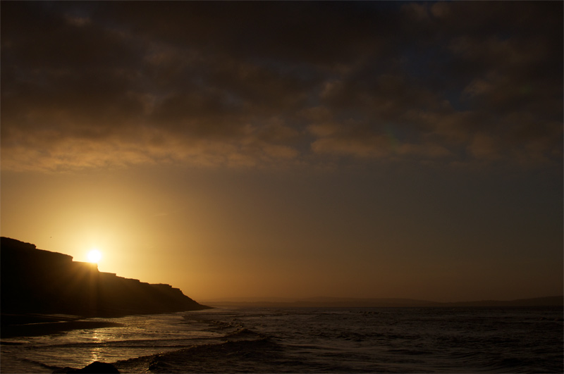Barton on Sea sunrise
