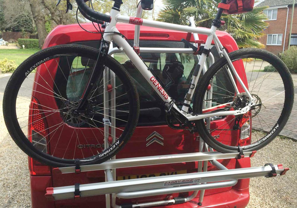 Fiamma Berlingo bike rack
